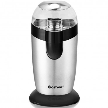 Electric One - Touch Stainless Steel Coffee And Spice Grinder