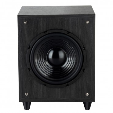 8 In. 300W Powered Active Subwoofer Front - Firing Woofer