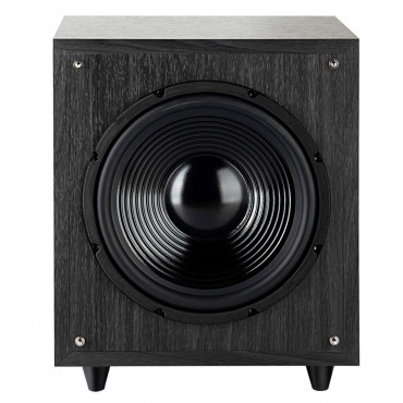 10 In. 400W Powered Active Subwoofer With Front - Firing Woofer