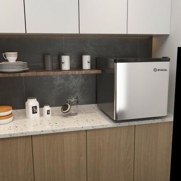 1.1 Cu. Ft. Compact Single Door Mini Upright Freezer