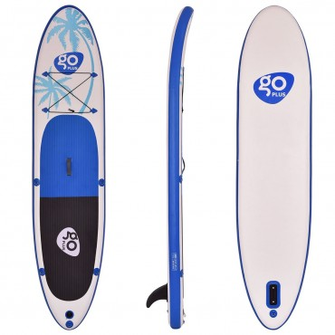 Goplus 11 Ft. Inflatable Standup Paddle Board SUP With Fin