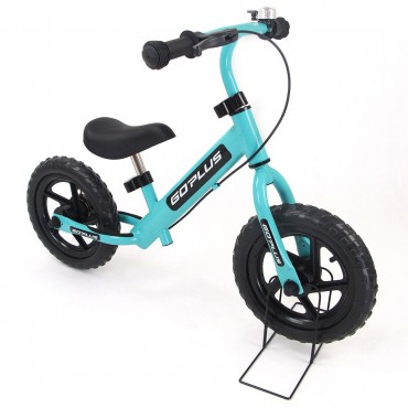 12 In. Four Colors Kids Balance Bike Scooter With Brakes And Bell