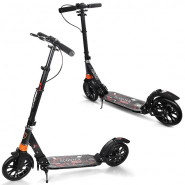 Dual Suspension Folding Kick Scooter