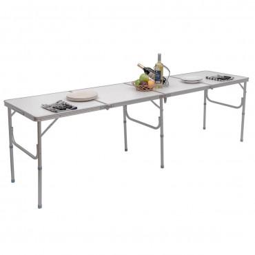 8 ft. Aluminum Folding Picnic Camping Table