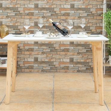 47.5 In. x 27.5 In. Modern Rectangular Dining Table