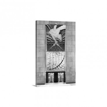 New York City, Manhattan, Midtown, Rockefeller Center Wall Art - Canvas - Gallery Wrap