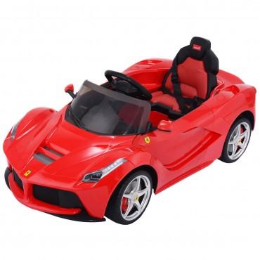 12 V LaFerrari Kids Ride On Car W / RC + MP3 + LED Lights