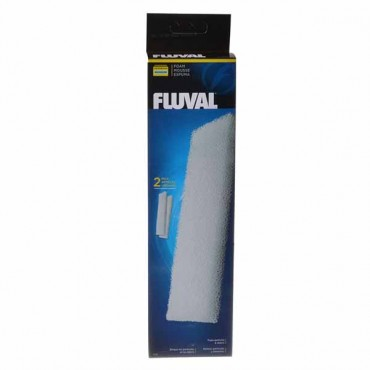 Flu val Filter Foam Block - For Flu val Canister Filters 404 and 405 - 2 Pack - 2 Pieces