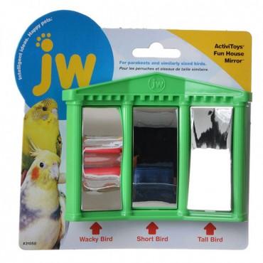 JW Insight Fun House Mirror Bird Toy - Fun House Mirror Bird Toy - 3 Pieces