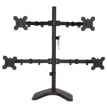 Adjustable Arms Swiel 4 LCD Tilt Monitor Mount Desk TV Bracket