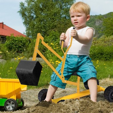 Heavy Duty Steel Frame Kid Ride-On Sand Digger