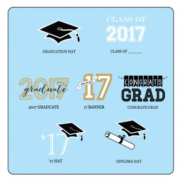 Personalized Graduation Notebooks - 24 Pieces