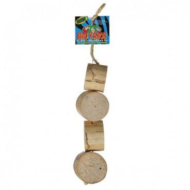 Wesco Pet Bird Kabob Bird Toy - Grande - 10.75 in. Long x 2.75 in. Wide