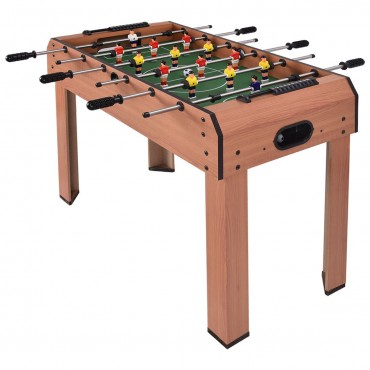37 In. Indoor Competition Game Football Table
