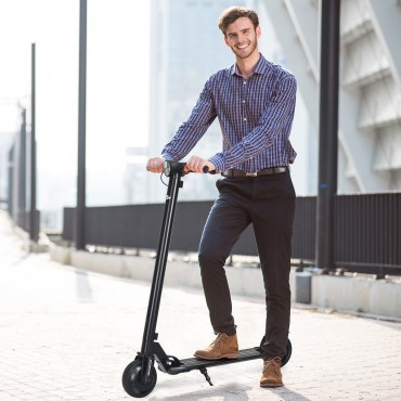 250 W High Speed Lightweight Folding Adult Electric Kick Scooter
