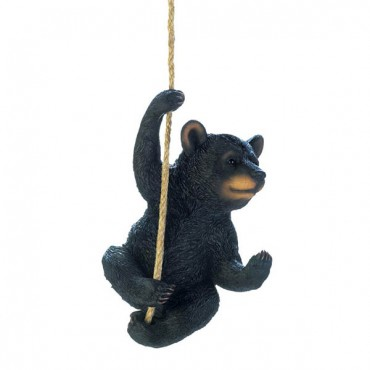Hanging Black Bear Decor