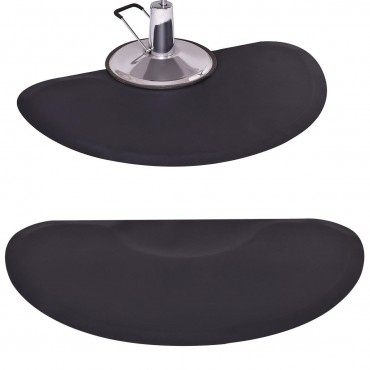 5 In. x 3 In. 1/2 In. Barber Salon Anti Fatigue Floor Mat
