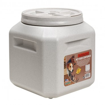 Vittles Vault Airtight Square Pet Food Container - Holds 30-35 lbs - 13L x 14W x 14H