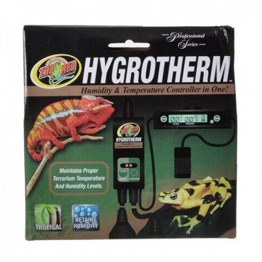 Zoo Med Hygrotherm - Humidity and Temperature Controller - Humidity and Temperature Controller