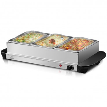 1.5Qt Stainless Steel Food Warmer Buffet Server