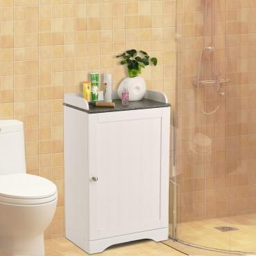 Bathroom Freestanding Storage Cabinet W / Single Door