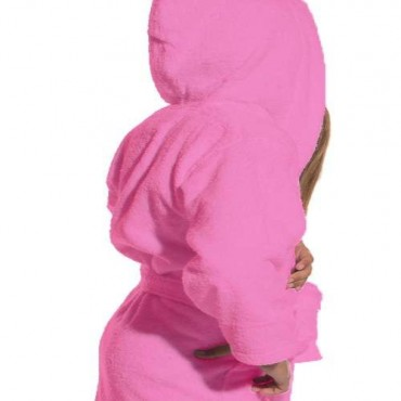 Kids Terry Cloth Robe with Hood