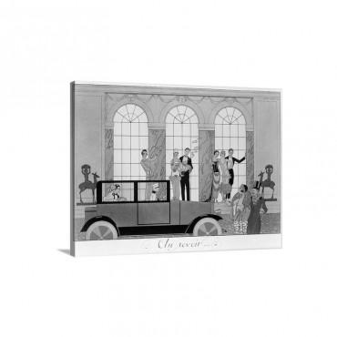 Farewell, 1920 Wall Art - Canvas - Gallery Wrap