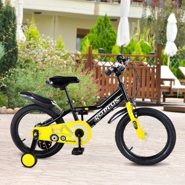 Kids Bike For Outdoor Sports With 12 In. Training Wheel