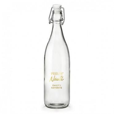 Vintage Water Bottle - Feelin Nauti Foiled Print