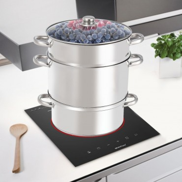 11 - Quart Stainless Steel Fruit Juicer Steamer