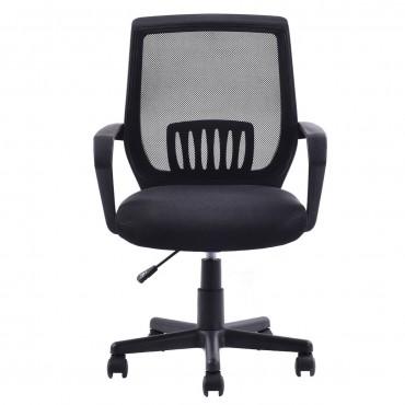Modern Ergonomic Mid-Back Mesh Computer Office Chair