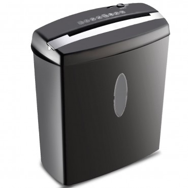 10 Sheet Cross - Cut Paper Shredder Machine With Basket