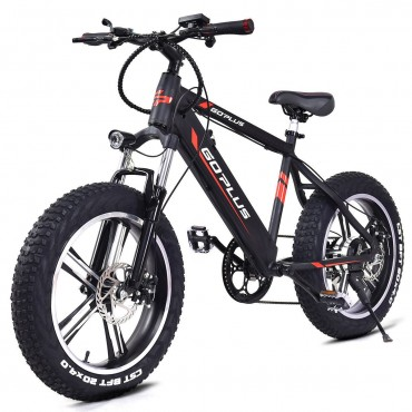 20 In. Electric Snow Mountain Bicycle W / Removable Lithium Battery