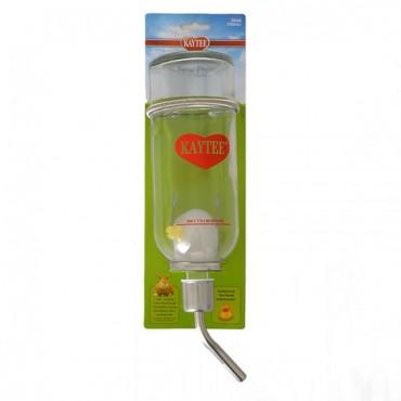 Kaytee Chew-Proof Glass Water Bottle - Large - 26 oz