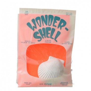 We co Wonder Shell DE - Chlorination - Large - For 5 Gallon Aquariums - 1 Pack - 6 Pieces