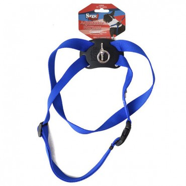 Coastal Pet Size Right Nylon Adjustable Harness - Blue - Large - Girth Size 28 in. - 36 in.