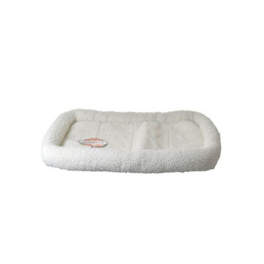 Precision Pet Snoozy Pet Bed Original Bumper Bed - White - Large
