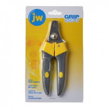 JW Gripsoft Delux Nail Clippers - Large - 2 Pieces