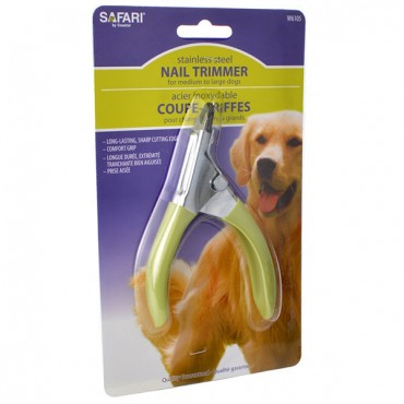 Safari Guilliotine Nail Trimmer - Large - 2 Pieces