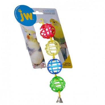 JW Insight Lattice Chain Bird Toy - Lattice Chain Bird Toy - 4 Pieces