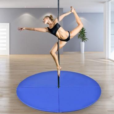 2 In. Foldable Pole Dance Yoga Exercise Safety Cushion Mat