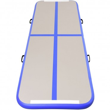 Air Track Inflatable Gymnastics Tumbling Floor Mats With Pump