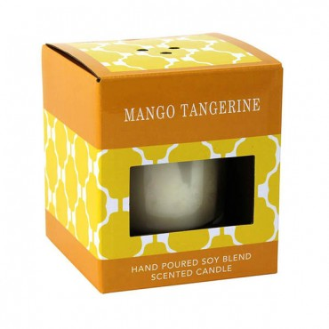 Mango Tangerine Scented Candle