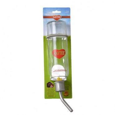 Kaytee Chew-Proof Glass Water Bottle - Medium - 12 oz - 2 Pieces