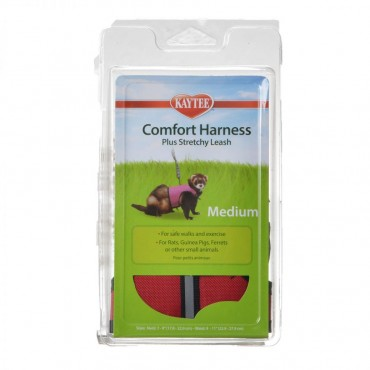 Kaytee Comfort Harness with Safety Leash - Medium - 7 in. - 9 in. Neck and 9 in. - 11 in. Waist