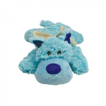 Kong Cozier Plush Toy - Bailey the Blue Dog - Medium - Bailey The Blue Dog - 2 Pieces