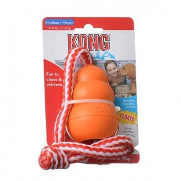 Kong Aqua Floating Dog Toy - Medium - Dogs 15-35 lbs - 2 Pieces
