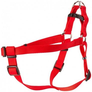 Coastal Pet Comfort Wrap Adjustable Harness - Red - Medium - Girth Size 20 in. - 32 in.