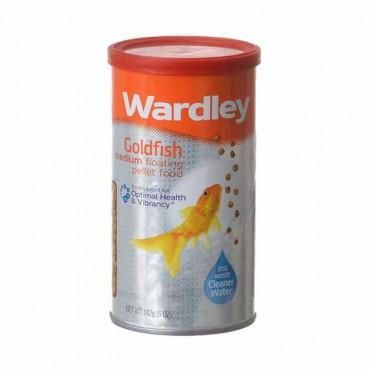 Wardley Goldfish Floating Pellets - Medium Pellets - 5 oz - 4 Pieces