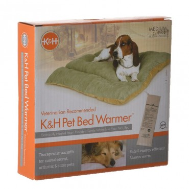 K and H Pet Products Pet Bed Warmer - Medium - 20 L x 6 W x .25 H 6 Watts